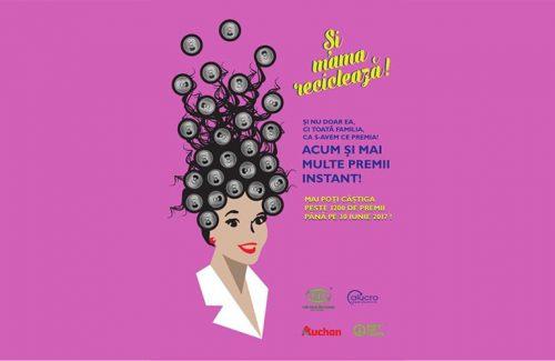 """""""Si mama recicleaza"""", un indemn pentru consumatorii romani sa contribuie la reciclarea dozelor din aluminiu"""