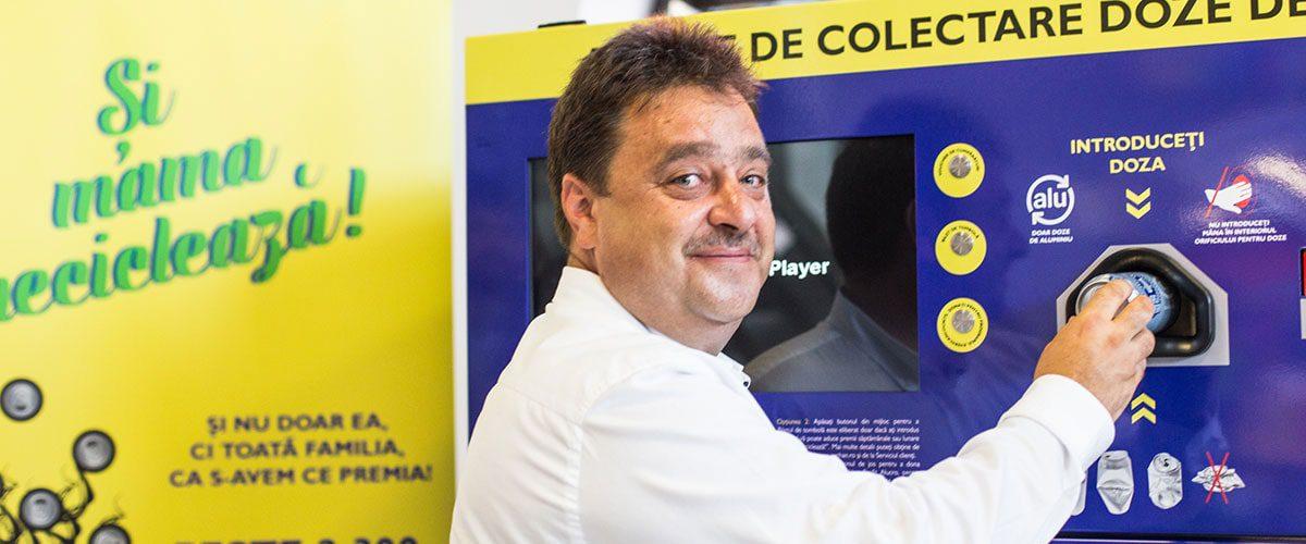 Iaşi4u.ro Dragoș Doru, director general Can Pack Recycling: Eforturile ieșenilor de a colecta dozele de aluminiu vor fi răsplătite prin premii